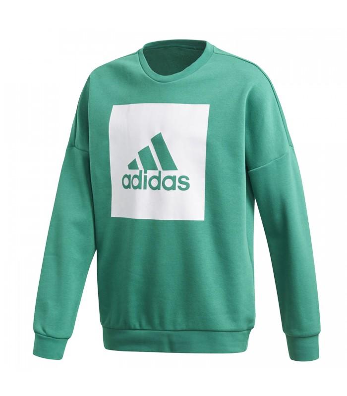 5d3b60982 Sudadera para niño adidas Essentials Big Logo de color verde