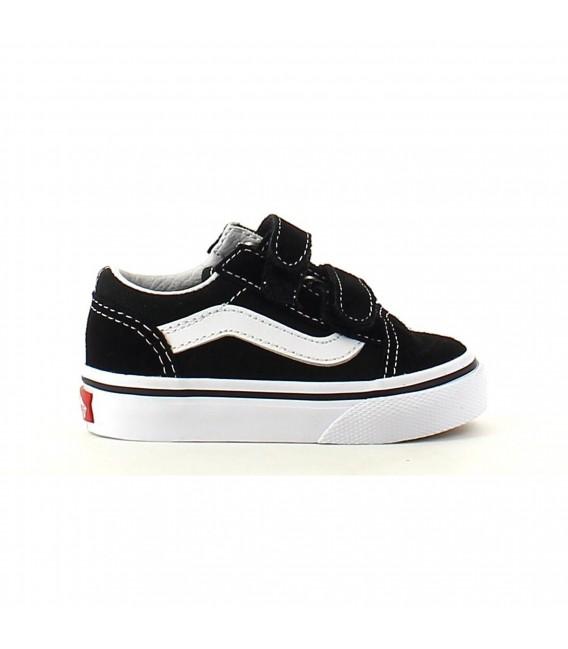 e908be38e1dfd Zapatillas para niños Vans Old Skool V de color negro