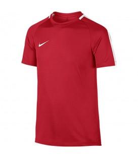 CamisetaNike Dry Academy 832969-657 para niños de color rojo, camiseta de fútbol Nike, más colores disponibles en chemasport.es