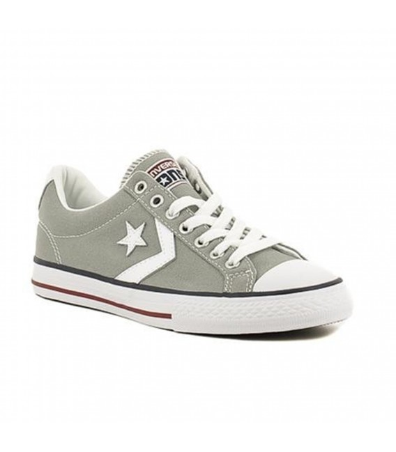 converse star player mujer gris
