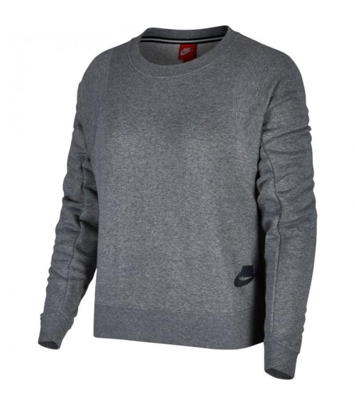 f4e666468141 Sudadera para mujer Nike Modern Crew de color gris