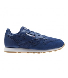 ZAPATILLAS REEBOK CL LEATHER ESTL CN1136 AZUL MARINO