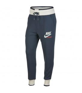 Pantalón Nike Sportwear 909726-471 para mujer en color azul, pantalón cómodo de estilo retro en chemasport.es al mejor precio