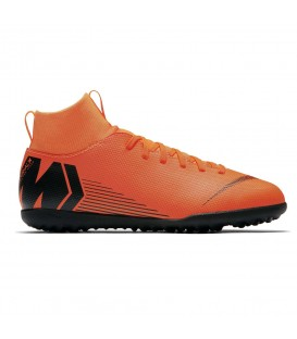 BOTAS DE FUTBOL NIKE JR SUPERFLYX 6 CLUB TF AH7345-810