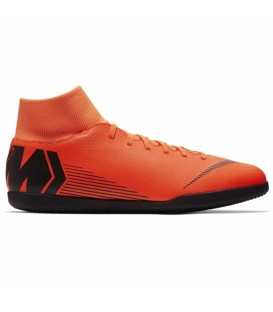 ZAPATILLAS DE FÚTBOL SALA NIKE SUPERFLYX 6 CLUB IC NARANJA