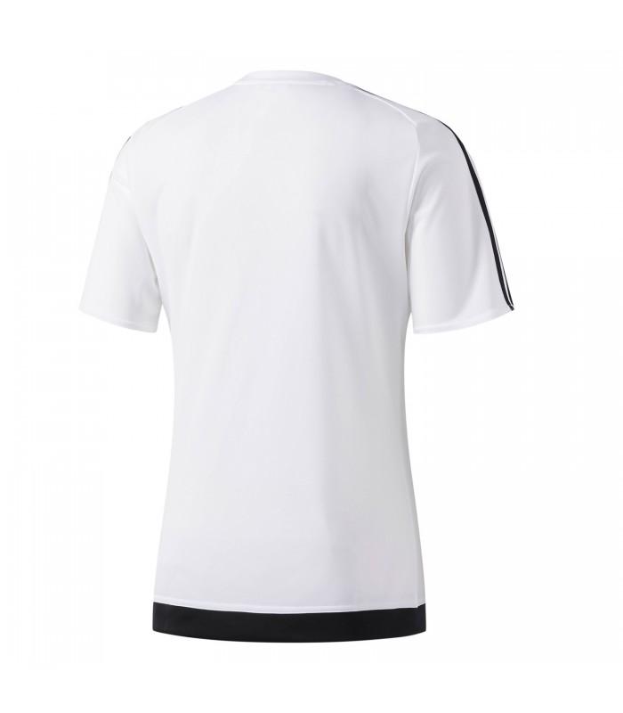 Camiseta adidas Estro 15 para niños en color blanco 035ca07d5123c