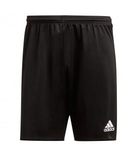Pantalón corto adidas Parma 16 AJ5880 para niños en color negro, pántalón de deporte para niños con tecnología Climalite que favorece la evaporación del sudor.