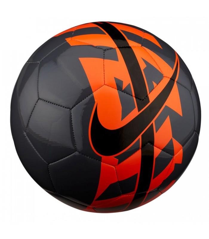 Balón de fútbol Nike React en color gris y naranja 27dff84721cfa