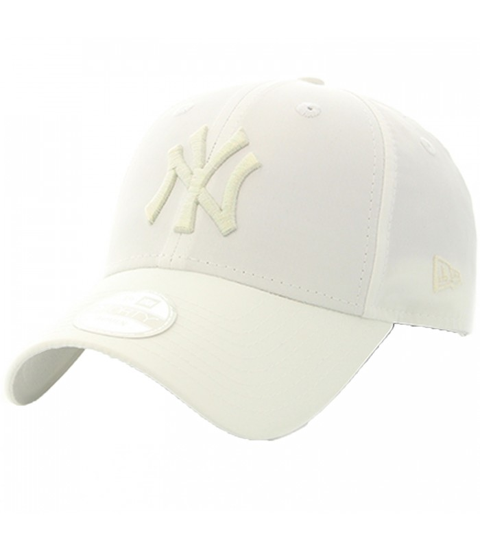 Gorra New Era 9Forty New York Yankees para mujer en color blanco c33a383f60f