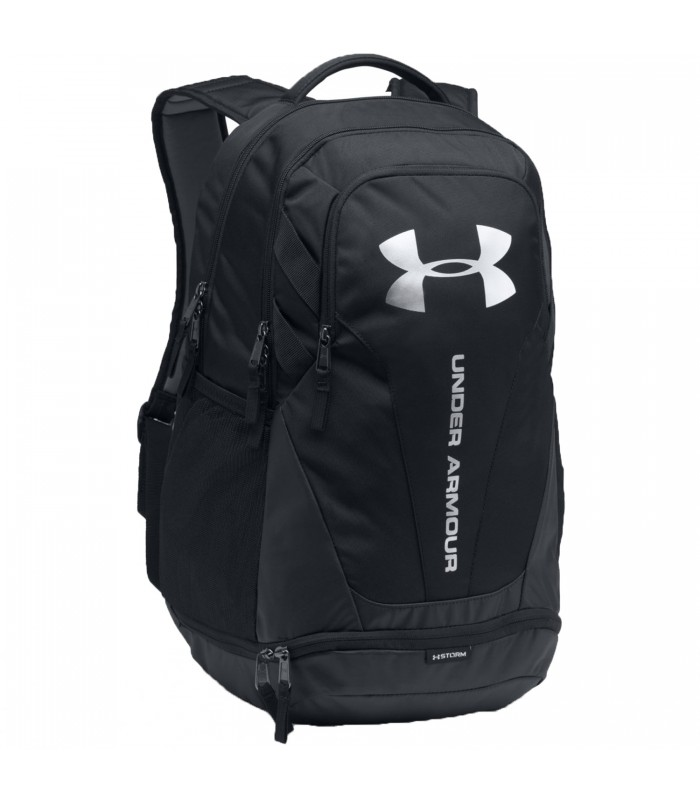 Agarrar Estrecho de Bering Punto  Mochila Under Armour Hustle 3.0 en color negro