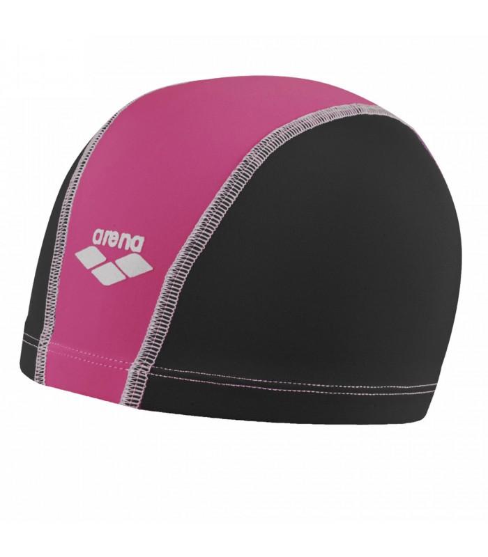 Gorro de piscina Arena Unix en color negro y rosa 67e258a608a