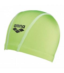Gorro de piscina Arena Unix 91278-031 en color verde, gorro elástico de ajuste ceñido, muy cómodo y fácil de poner, escoge tu color favorito en chemasport.es