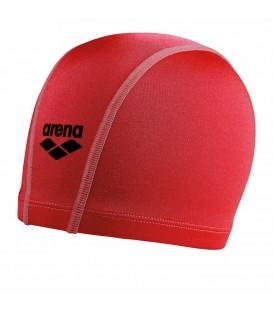 Gorro de piscina Arena Unix 91278-040 en color rojo, gorro elástico de ajuste ceñido, fácil de poner, encuentra tu color favorito en chemasport.es