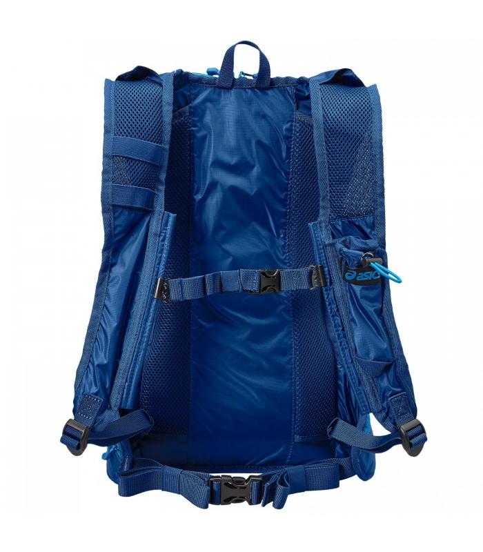 mochila asics azul