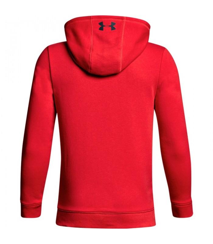 3de8781fa6a Sudadera para niño Under Armour Cotton French Terry de color rojo