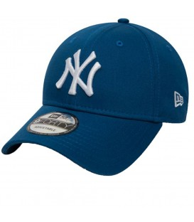 Gorra New Era 9Forty League Essentials New York 80580983 en color azul, gorra con visera curvada y cierre ajustable, más colores disponibles en chemasport.es