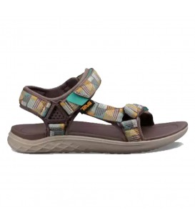 Sandalias de trekking para mujer baratas de la marca Teva W Terra-Float 2 Universal 91333NPT de color marrón estampado. Otros modelos en chemasport.es