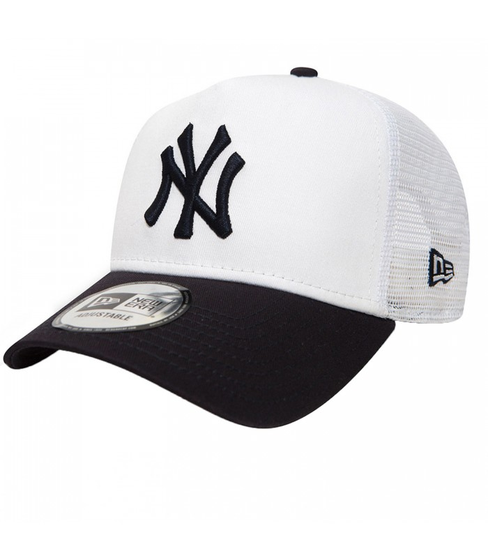 0055055f240e7 Gorra New Era League Essential New York Yankees de color blanco y azul