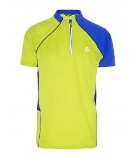 Camiseta técnica de manga corta para hombre Ternua Lite de color amarillo. Ref: 1206671-5448. Camiseta de running y trekking para hombre con tecnología Ternua