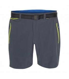 Pantalón corto Ternua Fris para hombre de color gris. Bermudas de trekking de la casa vasca Ternua. Calidad 100% española. Ref: 1241098-2269