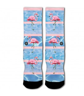 CALCETINES RAW SOX FLAMINGO RS-00128