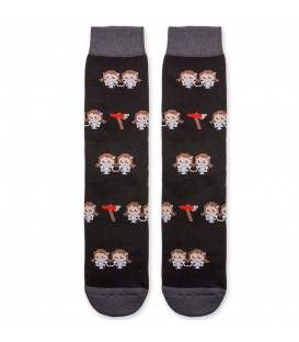 CALCETINES RAW SOX 8 BIT TWINS