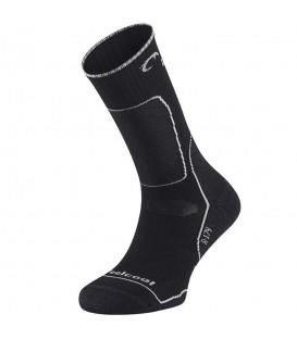 Calcetines Lurbel Mariola 00A0.174U.0003 en color negro, calcetines de trekking en altas temperaturas, con propiedades anti bacterias y de gran adaptabilidad.