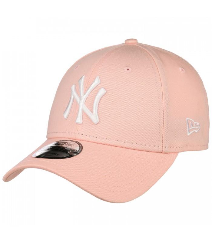 8cb596af26576 Gorra New Era 9Forty League Essentials New York en color rosa