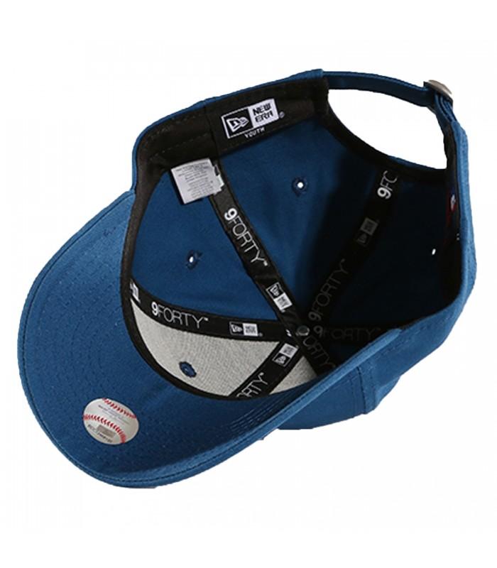 9c6a42cb4ce14 Gorra New Era 9Forty League Essentials New York Kids en color azul