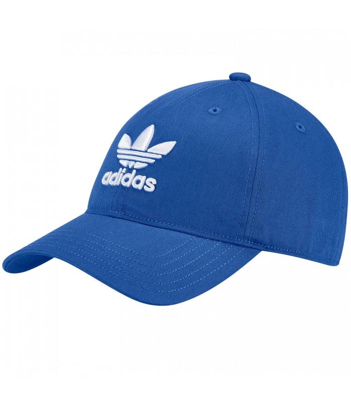 b38571c551369 Gorra adidas Trefoil en color azul