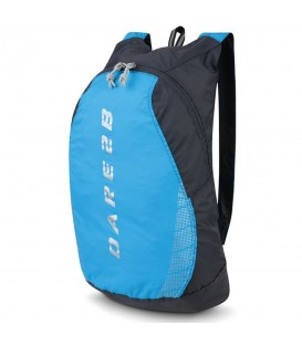 Mochila Regatta Silicone II DUE052 2XP en color negro y azul, mochila resistente y duradera, con tejido que repele el agua y detalles reflectantes.