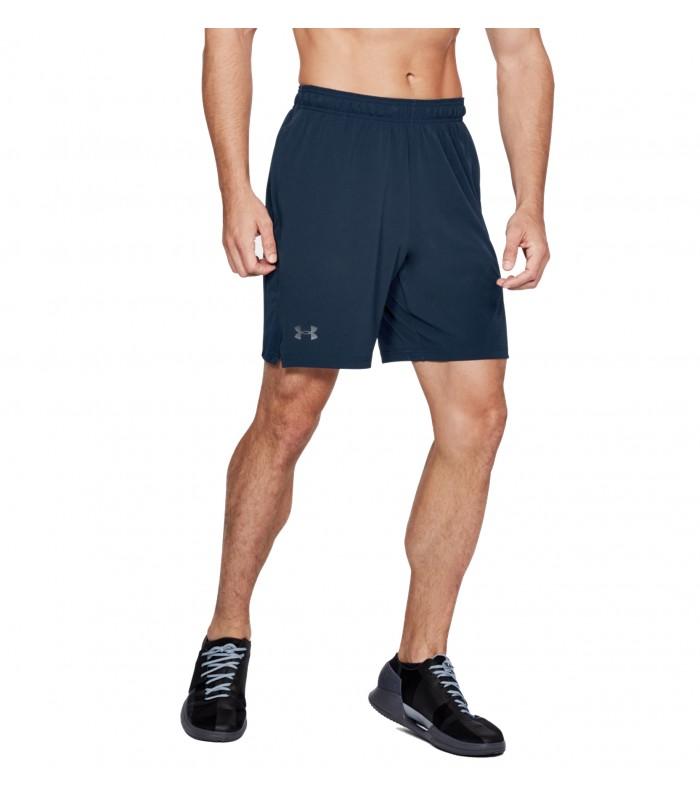 8a8370ae1b0ff Pantalón corto UA Cage Short para hombre de color azul