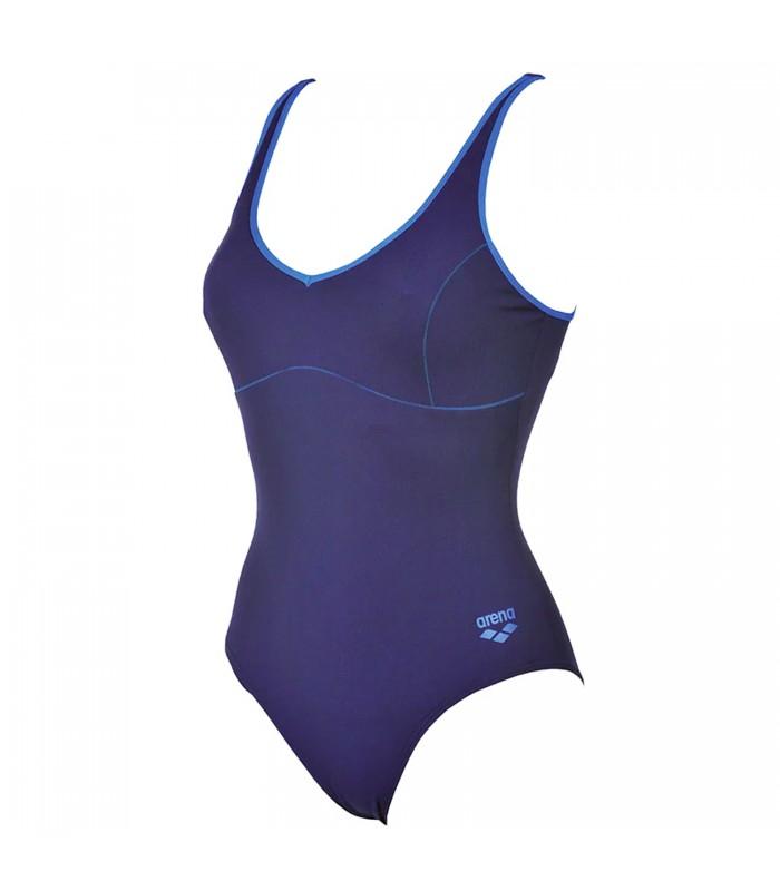 76652bd3e2e0 Bañador arena Tania Clip Back para mujer en color azul marino