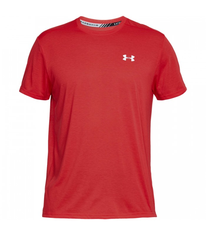 76760259a49 Camiseta Under Armour Threadborne Streaker en color rojo
