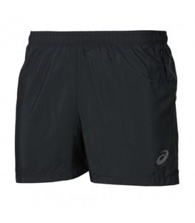 Pantalón corto Asics Split 134092-904 para hombre en color negro, pantalones de running al mejor precio en chemasport.es