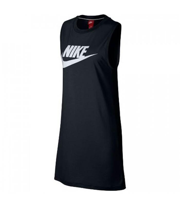 diseño atemporal a7d70 04608 Vestido Nike Sportwear para mujer en color negro