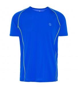 Camiseta Ternua Windgap 1206651-2387 para hombre en color azul, camiseta ligera y transpirable con propiedades antibacterianas, perfecta para trekking o hikking