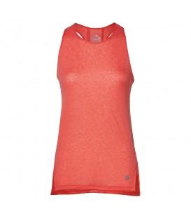 Camiseta de running para mujer Asics Cool tank 154524-0698 de color coral al mejor precio en tu tienda de deportes online chemasport.es