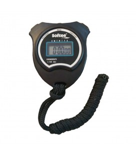 Cronómetro Softee Deluxe 0012023 en color negro, cronómetro con forma ergonómica perfecto para todo tipo de eventos deportivos, cómpralo ya y recíbelo en 24/48h