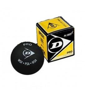 Pelota de squash Dunlop Revelation Pro 0503058 en color negro, pelota de velocidad superlenta, para jugadores avanzados o profesionales.