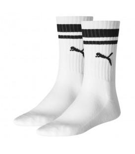 Calcetines Puma Heritage Stripe 261058001-300 en color blanco, calcetines básicos de algodón suaves, más colores y modelos en chemasport.es al mejor precio.