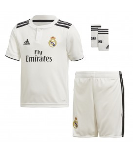 KIT PRIMERA EQUIPACIÓN ADIDAS REAL MADRID 2018/19