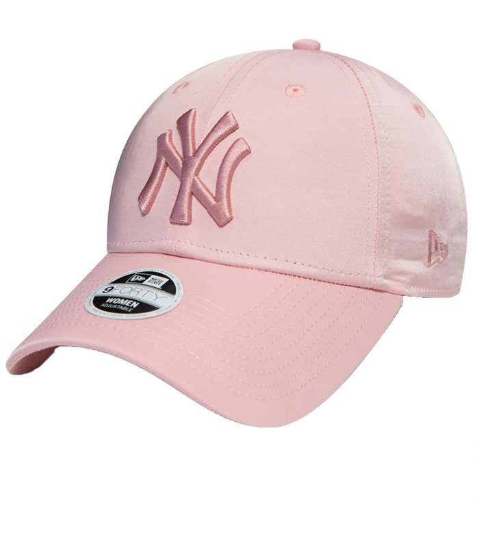 67d5e8e1f3095 Gorra New Era New York Yankees 9Forty para mujer en color rosa