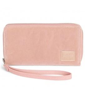 Cartera Herschel Thomas 10384-01651 en color rosa, cartera con un amplio espacio para monedas, billetes y tarjetas. Espacio para un móvil tamaño hasta iphone5.