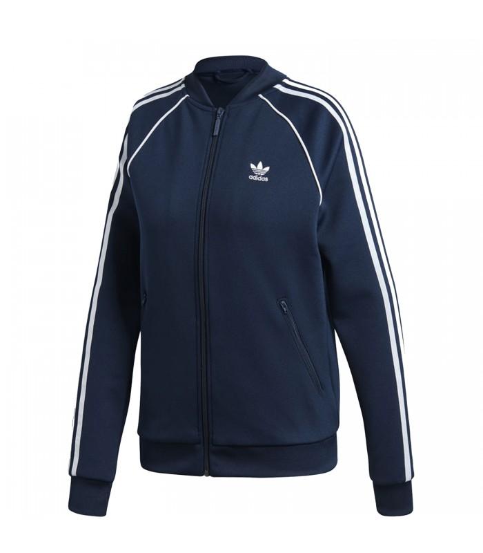 chaqueta adidas sst azul