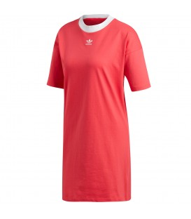 Vestido adidas Trefoil DH3195 para mujer en color rosa, recíbelo en tan solo 24/48 horas comprándolo a través de chemasport.es