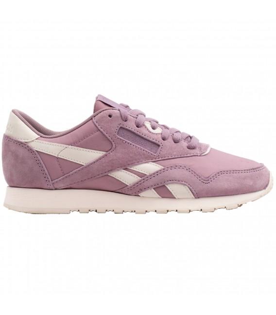 aff5e49c8 Zapatillas Reebok Classic Nylon para mujer en color rosa