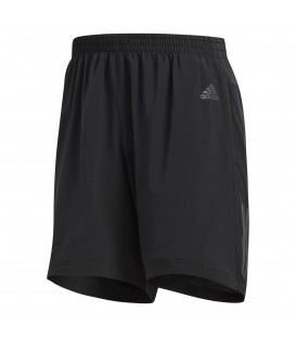 Pantalón corto de running para hombre adidas Response CF6257 de color negro, entra en chemasport.es y descubre más pantalones, mallas y camisetas de running.
