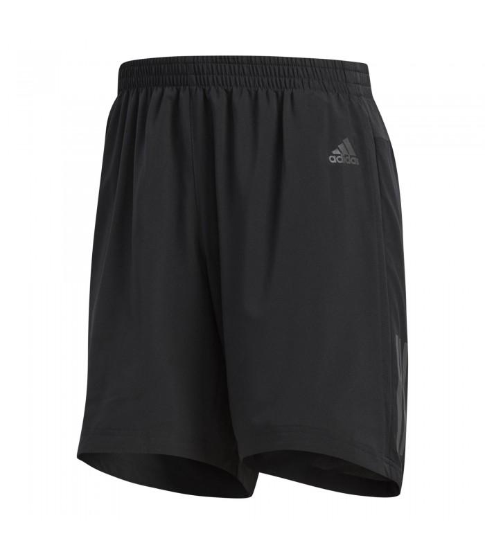 cd0925d90 Pantalón corto de running para hombre adidas Response de color negro