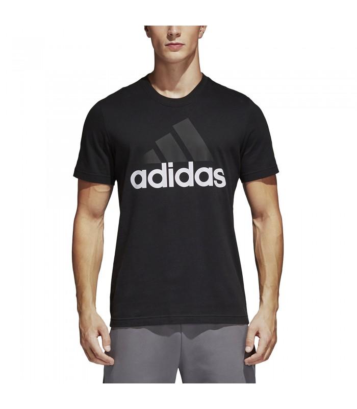 Camiseta adidas Essential Linear Tee de color negro e44f497c19be6